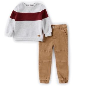 7 FOR ALL MANKIND Boys 2T Shirt & Jogger Set NEW